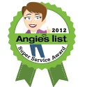 Angie's List Service Award Badge